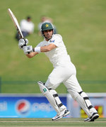 Misbah-ul-Haq guided Pakistan's recovery on the first afternoon