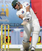 Misbah-ul-Haq struck four sixes in his innings