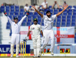 Monty Panesar appeals to have Mohammad Hafeez lbw