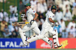Asad Shafiq and Azhar Ali shared a battling unbeaten stand of 71
