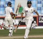 Younis Khan and Azhar Ali extended their association to over 200 runs