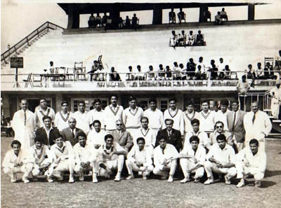 Railway and PIA Team Photograph
