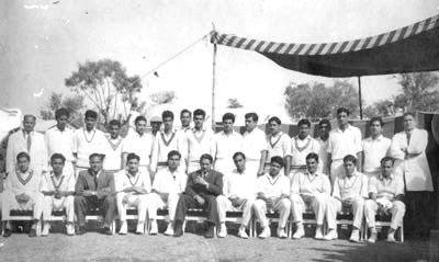 University and Railway Team Photograph