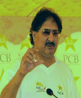 Sarfraz Nawaz, National Skill Consultant and legendary fast bowler