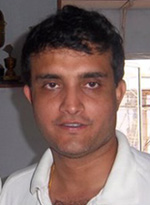 Portrait of Sourav Ganguly