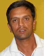 Portrait of Rahul Dravid