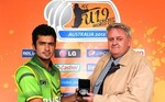 Mohammad Nawaz gets the Man of the Match award