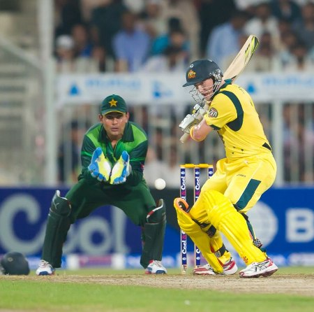 George Bailey steadied Australia innings