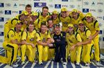 Australia after winning the ODI series