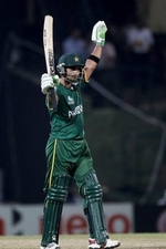 Imran Nazir made 72 runs