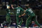Yasir Arafat took two wickets in his last over