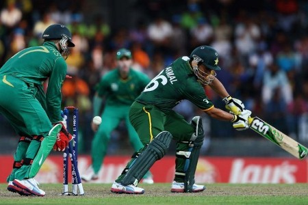 Kamran Akmal was dismissed on 1