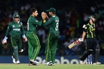 Saeed Ajmal took 3 wickets for 17 runs