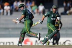 Nasir Jamshed and Kamran Akmal's partnership helped Pakistan recover