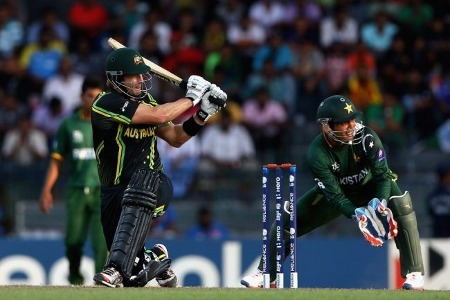 Shane Watson sweeps one for four