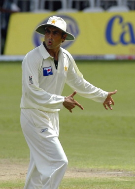Pakistan stand-in captain Younis Khan