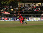 Action from the 1st T20