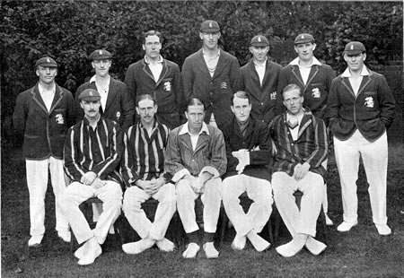 England XI at Lords, June, 1921