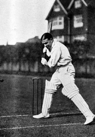 Batting Portrait of Vallance Jupp