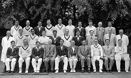 Scotland against Pakistanis, 16th, 17th, 18th June 1954, Team photograph