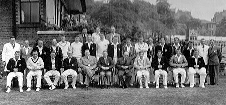 Scotland against New Zealand, 16th, 18th, 19th July 1949, Team photograph