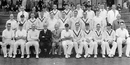 Scotland against South Africans, 23rd, 24th July 1947, Scotland and South Africans Team photograph