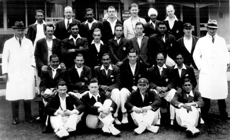 Scotland against Indians, 23rd, 25th, 26th July 1932, Scotland and Indians Team photograph