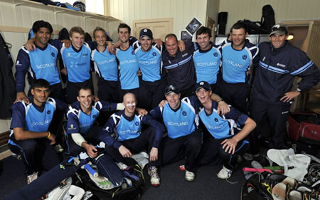 ICC World Cricket League Championship 2011 to 2013, Scotland against Netherlands, Scotland team photograph