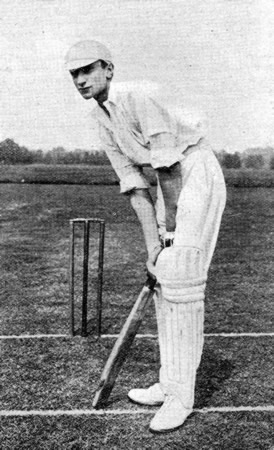 Batting Portrait of Ronnie Aird