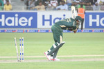 Wahab Riaz making a mess of the stumps