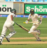 Younis Khan and Azhar Ali's partnership kept Pakistan in the game