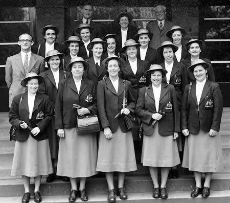 Australia Women touring team, 1951