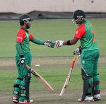 Action at the Bangladesh Cricket League One-Day 2014/15