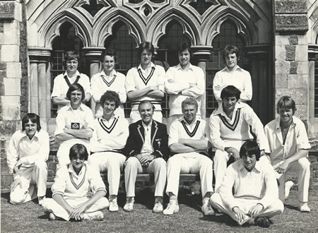 National Association of Young Cricketers North team photo, 1977