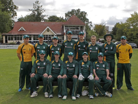 Guernsey pose for a photograph ahead of their match against Fiji