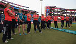 England women look on after losing to Australia