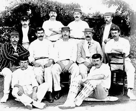 Gentlemen v Players Team photograph, 1895