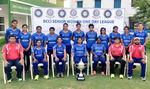 Mithali Raj with the winning Railways Women team