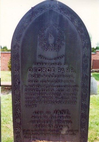 Last resting place of George Parr